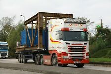 Colour photograph truck photo of LPL TRANSPORT SCANIA SL16VWU