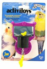 JW Pet Bird Toy Activity Purple Magic Hat Small Birds Parakeet Cockatiel Love