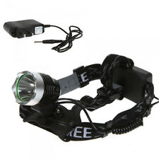 2000 Lumens CREE XM-L T6 LED Bicycle Head Light 3 Mode Headlamp 18650 + Charger