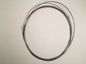 """Replacement Piano String 0.138/"""" diameter Universal Piano Bass String"""