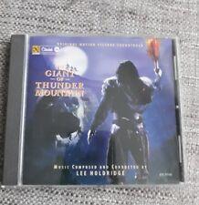 THE GIANT OF THUNDER MOUNTAIN CD SOUNDTRACK SCORE - LEE HOLDRIDGE - RARE & OOP