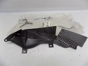 New OEM 1991-2003 Ford Escort Mercury Tracer Left Cowl Baffle Plate Cover NOS