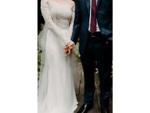 """Designer Wedding Skirt Lihi Hod """"Blush"""" Skirt Color: Marshmallow (White/Ivory)"""