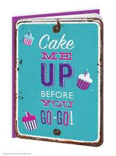 Super bonbon gaufrée anniversaire carte de vœux drôle moderne humour tendance gâteau