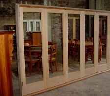 Bi fold Door BIFOLD SET  ... HARDWOOD TIMBER  NEW  !! (  Aust Wide Delivery )