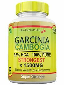 Strongest 1500MG Garcinia Cambogia 100% Pure 95% HCA Extract Extreme Weight...