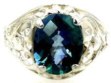 Neptune Garden Topaz, 925 Sterling Silver Ladies Ring, SR004-Handmade