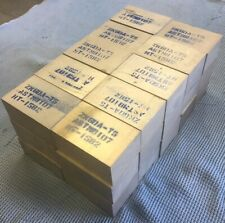 """New listing 2.25"""" x 3.5"""" x 1.56"""" Magnesium Alloy Zk60A-T5 - Lot Of 30"""