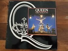 """Rare Queen Freddie Mercury Another One Bites the Dust 12"""" France Unique Sleeve"""