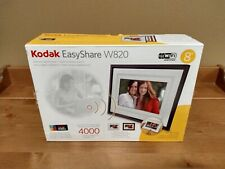 "Used - Kodak 8"" EasyShare Wireless Digital Picture Frame: Model # W820"