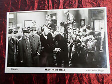 DUDLEY DIGGES - MAYOR OF HELL - FILM WEEKLY  POSTCARD
