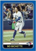 BO BICHETTE Rookie RC 2020 Topps BL BLUE PARALLEL - BLASTER EXCLUSIVE Blue Jays