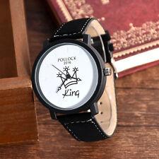 King Queen Couples Watches Women Watch Men Brand Female Male Quartz Wristwatch #