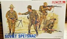 DML Soviet Spetsnaz 1:35 Sealed - World's Elite Force Series Four Figures Age 10