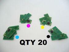 CHIPS FOR PRIMERA BLU RAY 4100 DISC PRINTER CARTRIDGE QTY X 20 GENUINE OCP INK