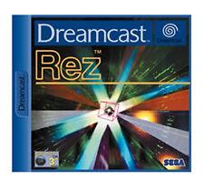 Sega Dreamcast REZ  Boxed new euro pal Sealed Never played! Unopened