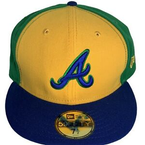New Era MLB Atlanta Braves 59Fifty Fitted Hat Green