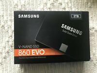 Samsung SSD 860 EVO 2TB 2.5 Inch SATA III Internal SSD (MZ-76E2T0B/AM)