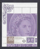 UL (pos.1) S/Sheet from UNCUT sheet = QUEEN ELIZABETH II Canada 2012 #2540ai MNH
