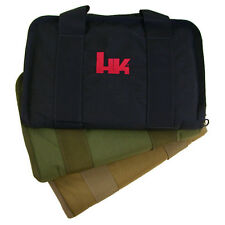 Heckler & Koch H&K BLACK Padded Bag Gun Rug Case USP HK45 P30 P7 VP9 VP40 SP5K