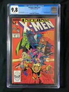 Uncanny X-Men #240 CGC 9.8 (1989) - Mister Sinister app