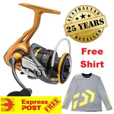 Daiwa Sol III LT 3000 Fishing Spinning Reel FREE SHIRT