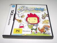 ScribbleNauts Nintendo DS 3DS Game *No Manual*