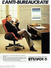 PUBLICITE ADVERTISING 106  1979  Aménagement & mobilier de bureau Strafor