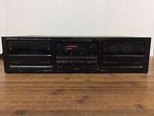 Kenwood KX-69W Dual Cassette Player: Tested: Nice Shape