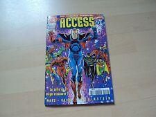 super héros comics,  ACCESS   n°10