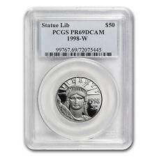1998-W 1/2 oz Proof Platinum American Eagle PR-69 PCGS