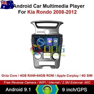 """9"""" Android 9.1 Octa Core Car Non DVD GPS For Kia Rondo 2008-2012"""