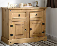 New Corona Mexican Pine Sideboard 2 Door 2 Drawer Best Quality Pine Wooden WOW