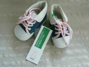 Benetton shoes/ scarpe ( United Colors of Benetton ) Baby Schuhe Gr. EU 16 NEU