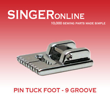 Pin Tuck Foot 9 Grooves
