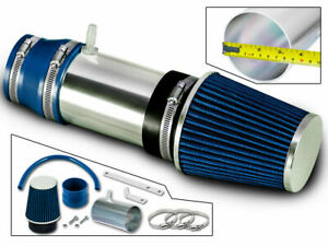 BCP BLUE 03-07 Honda Accord LX EX 3.0L V6 Short Ram Air Intake + Filter