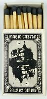 The Magic Castle Hollywood CA Matchbox Matches Black Tip Unused Vintage 1960's