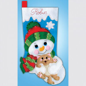Design Works Crafts Stocking Kit Hugs For Kitty. Shipping Included