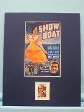 Irene Dunne - Showboat by Jerome Kern honored by his own stamp