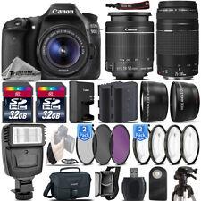 Canon EOS Rebel 90D DSLR Camera + 18-55mm IS STM + 75-300 III - 64GB Kit Bundle
