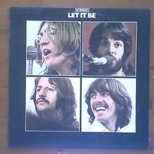 (BEATLES-Let it Be)-Black/Silver labels-#86/500 greatest albums -D7-LP