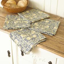 William Morris Pimpernel Cream Pack of 4 Floral Cotton Napkins