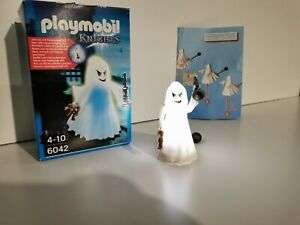 PLAYMOBIL 6042 - Gespenst Geist mit Farbwechsel-LED, super Zustand + OVP