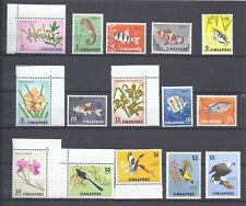 Singapore 1963 Beautiful set of 15 to £5 UM Cat £55.00