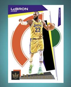 2020 Panini Court Kings Maestros-LEBRON JAMES (Panini NBA Dunk App digital Card)