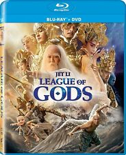 League of Gods (Blu-ray/DVD, 2017, 2-Disc Set)