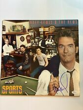 Huey Lewis signed/autographed record/vinyl/album The News JSA M94393