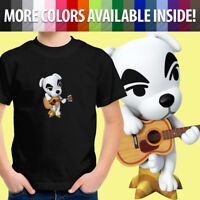 Toddler Kids Tee Youth T-Shirt Animal Crossing K.K. Slider Guitar Nintendo Dog