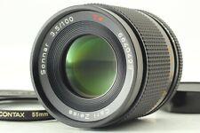 [Near Mint] Contax Carl Zeiss Sonnar T* 100mm f/3.5 AEJ Lens C/Y from Japan 1000