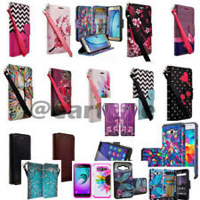 Samsung Galaxy J7 Case Cover Magnetic Leather Flip Slim Wallet Pouch